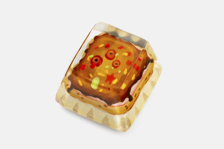 Dwarf Factory Foodie Artisan Keycap - Sweet Cupcake (OEM/Cover)